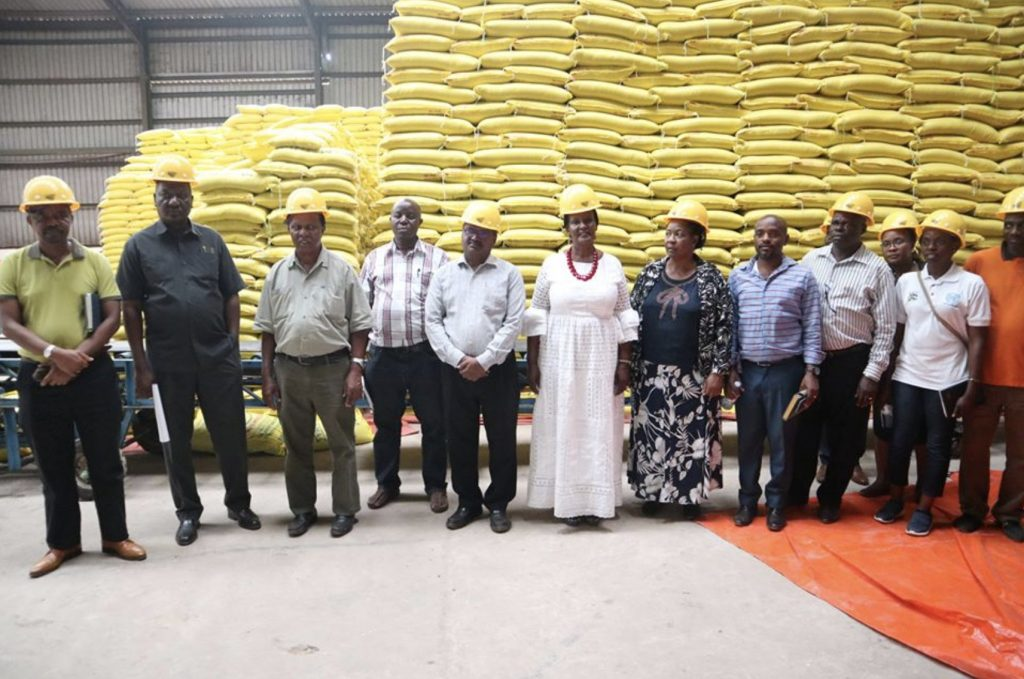 坦尚尼亞政府出訪烏干達製糖廠(Geany News)
