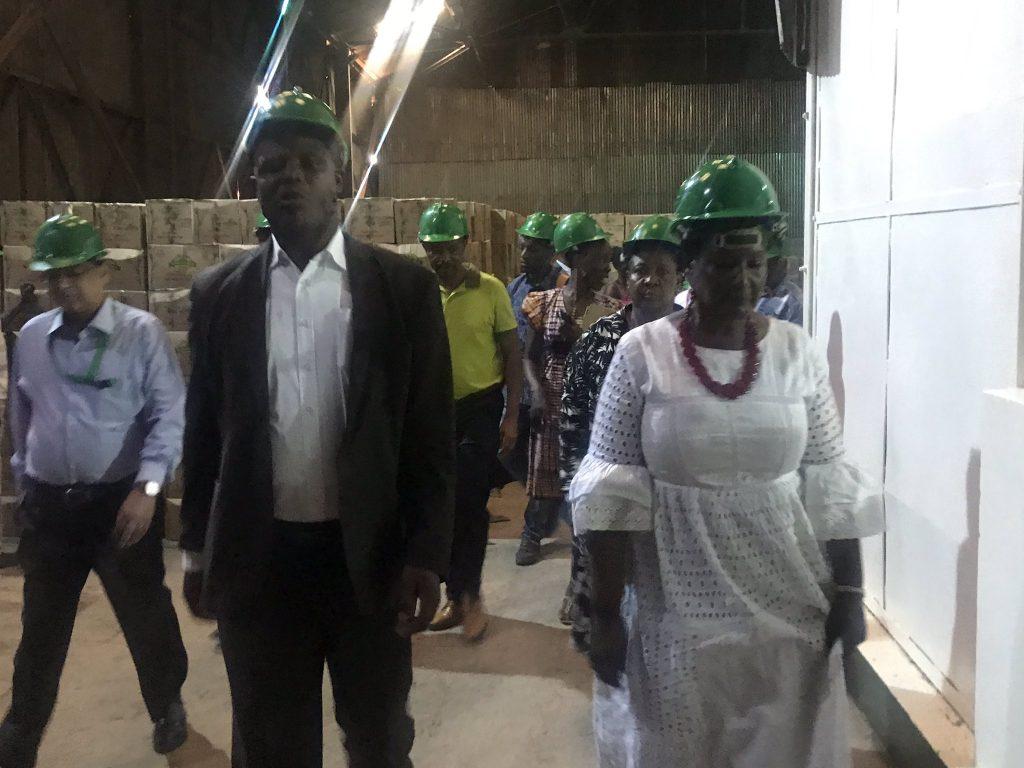 坦尚尼亞政府出訪烏干達製糖廠(ELIJAH TURYAGUMANAWE)